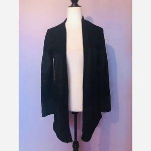 Eileen Fisher wool open cardigan